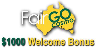 Fair Go Casino Login Homepage - Australian players